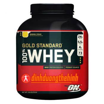 100 whey gold standard 5lbs