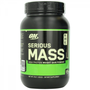 on serious mass 3lbs