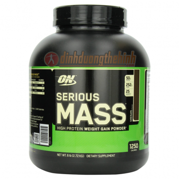 optimun serious mass 6lbs