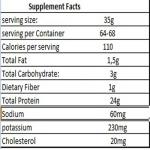 100 whey protein dni
