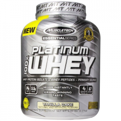 Muscletech platinum whey 5lbs