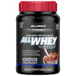allmax nutrition allwhey classic 100% whey protein 2lbs