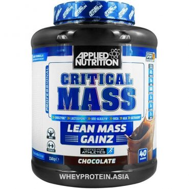 applied nutrition critical mass gainer 2.4kg